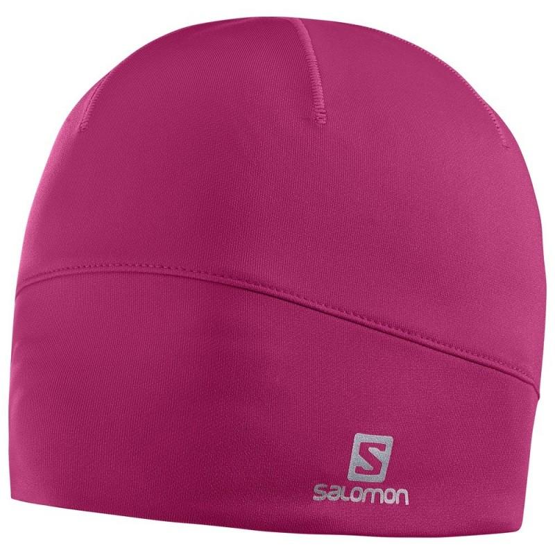 Bonnet SALOMON Active Beanie rose