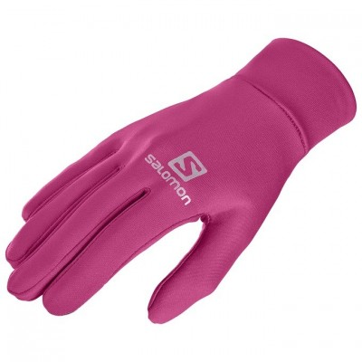 Gants SALOMON Agile Warm gloves tactiles rose