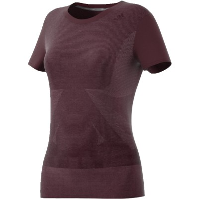 Tee-Shirt ADIDAS supernova femme prune