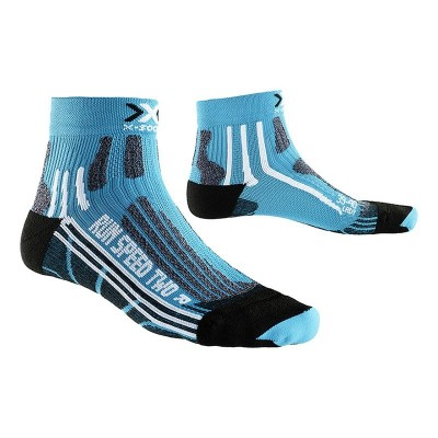 Chaussettes X-SOCKS Speed Two Femme turquoises