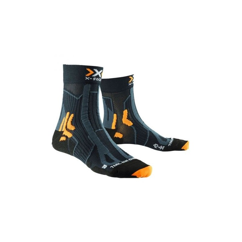 Chaussettes X-SOCKS Trail Run Energy noires