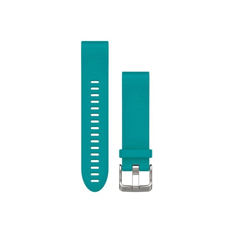 Bracelet QuickFit™ GARMIN Fénix 5S (20mm) silicone Turquoise