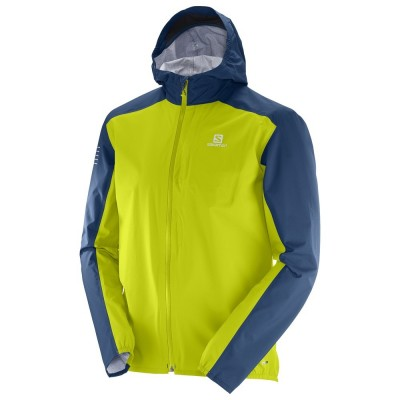 Veste imperméable SALOMON Bonatti WP Homme lime