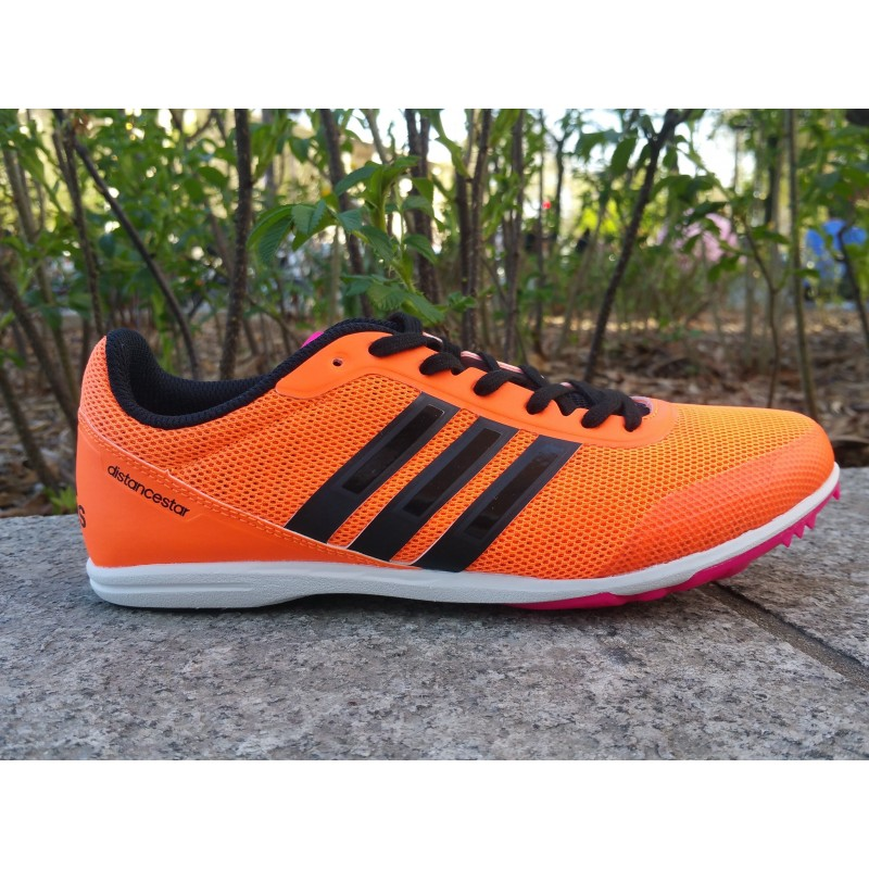 PE19 Pointes Athlétisme ADIDAS Distancestar Femme orange