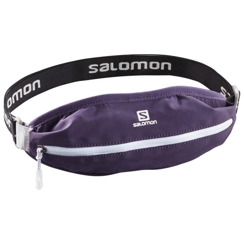 Ceinture Salomon agile single belt mauve