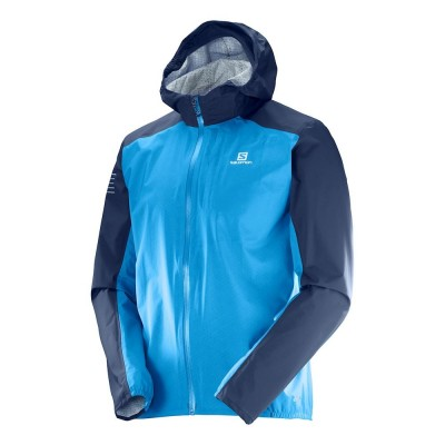 Veste imperméable SALOMON Bonatti WP Homme hawaiian blue