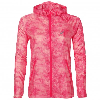 Veste Asics Fuzex packable femme diva pink
