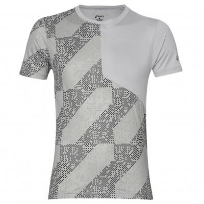 Tee-shirt ASICS Lite Show Homme Lite Stripe Midgrey