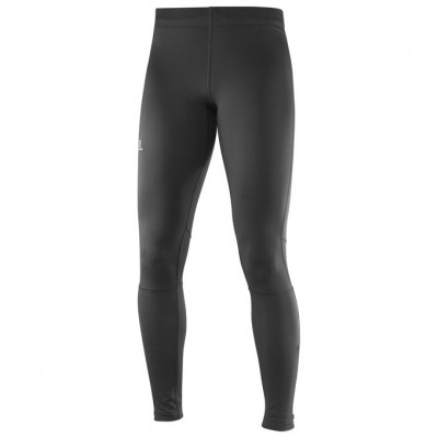 Collant SALOMON AGILE LONG TIGHT femme noir