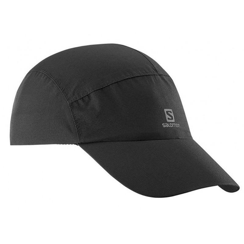 Casquette Salomon waterproof Cap noire