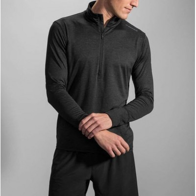 Maillot Manches longues BROOKS DASH homme anthracite