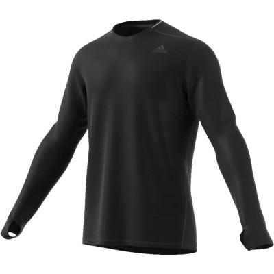 Tee-Shirt manches longues Adidas Supernova Homme noir