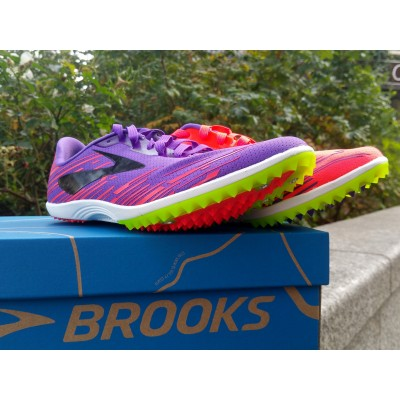 PE19 Pointes Mach 18 Femme fiery coral / electric purple