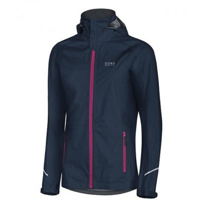 Veste Gore Essential Lady GoreTex Femme marine/iriss