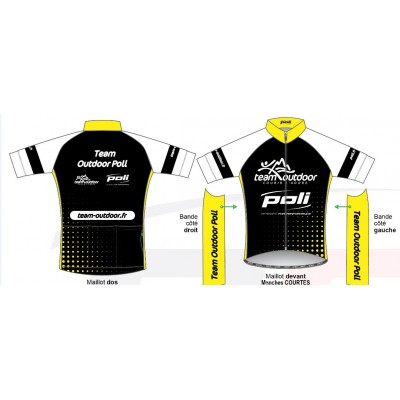 Maillot Vélo manches courtes TOP homme