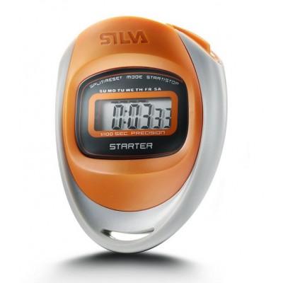 Chronomètre SILVA 1/100ème orange