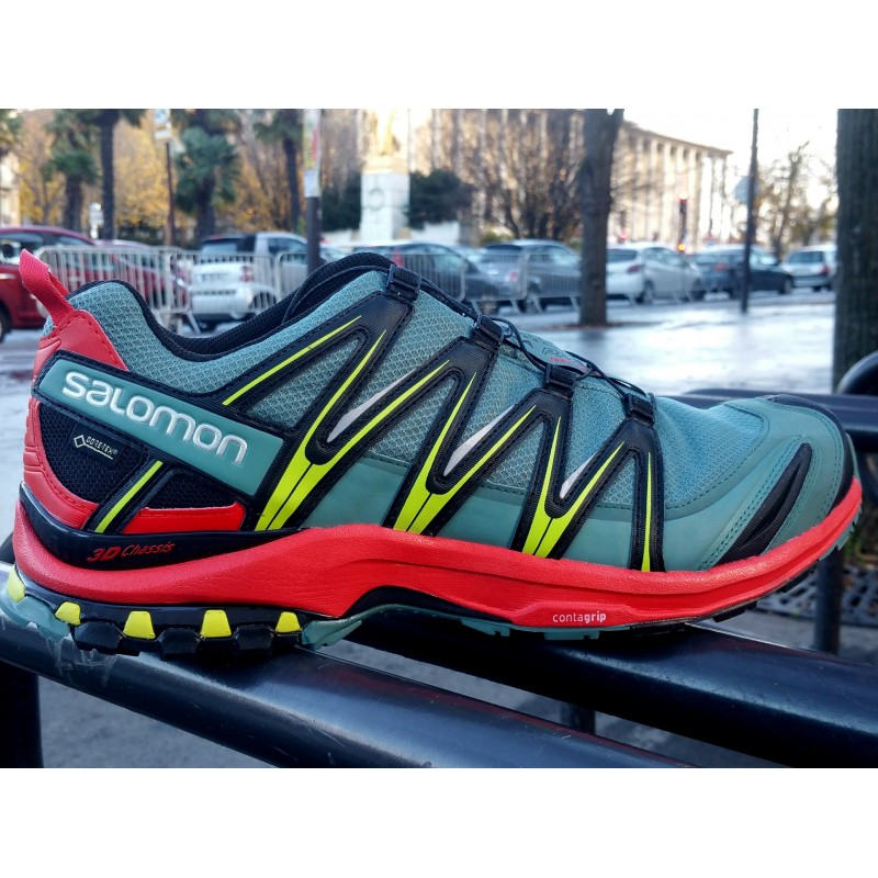 PE18 XA PRO 3D GTX Homme North atlantic/red/black