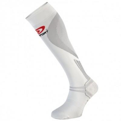 Chaussettes récupération Elite BV SPORT blanches