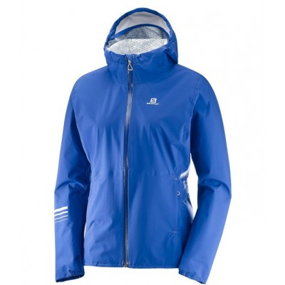 Veste imperméable SALOMON Lightning Femme sodalite blue