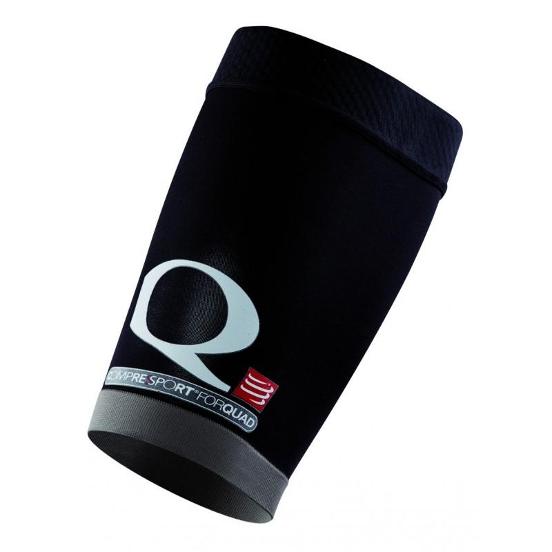 Manchons cuisses COMPRESSPRT Quads noirs