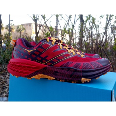 ah18 Speedgoat 2 Homme winetasting/haute red