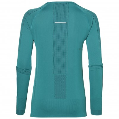 Tee-shirt ASICS SEAMLESS manches longues Femme lake blue
