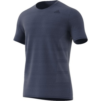 Tee-Shirt Adidas Supernova Homme bleu