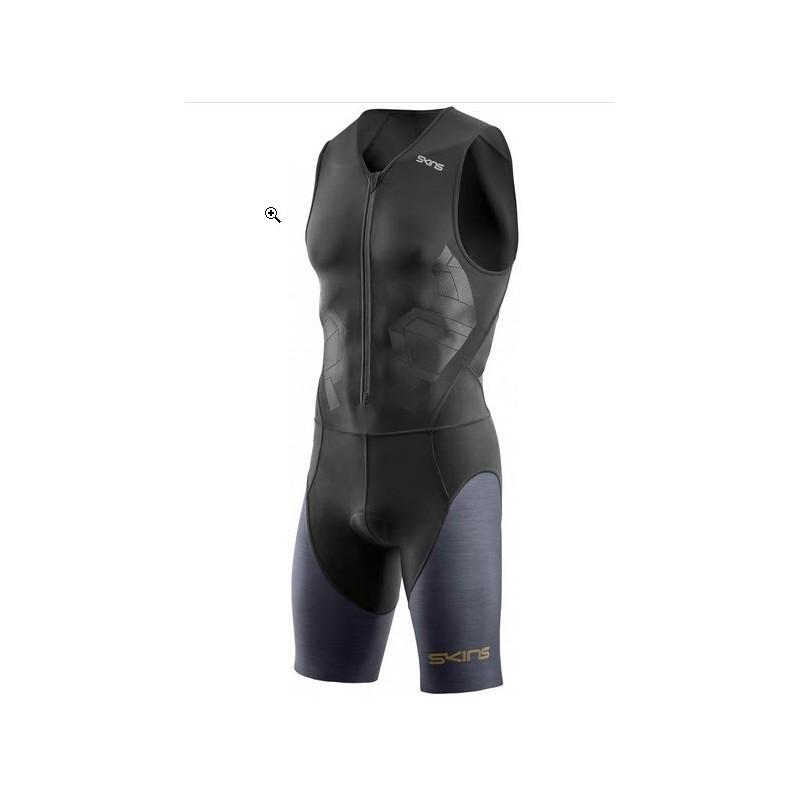 Trifonction SKINS DNAmic Skinsuit Front Zip M Homme noir