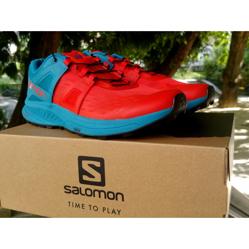 AH19 Ultra Pro Homme Cherry Tomato/Fjord Blue/Black