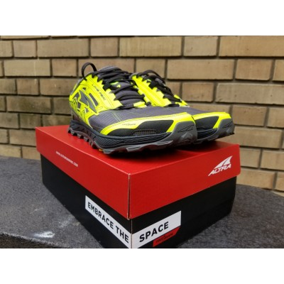PE20 Lone Peak 4 Homme gray/yellow
