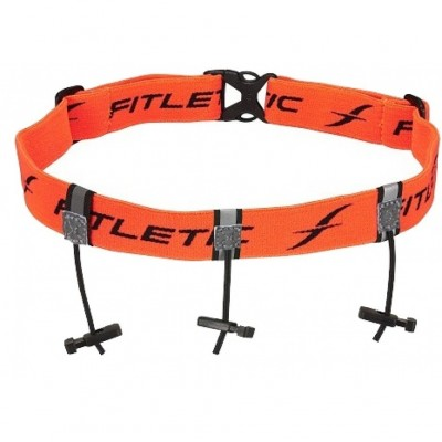 Ceinture porte-dossard FITLETIC orange