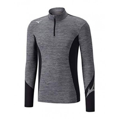 Maillot Breath thermo Virtual Body 1/2 zip homme gris/noir