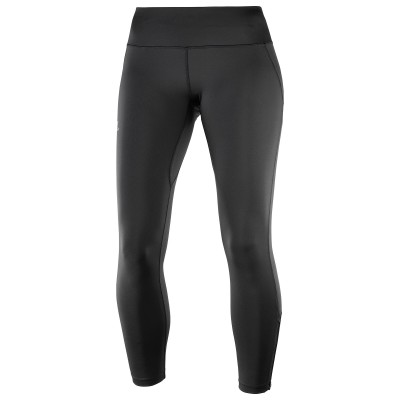 Collant Salomon Agile Long Femme noir