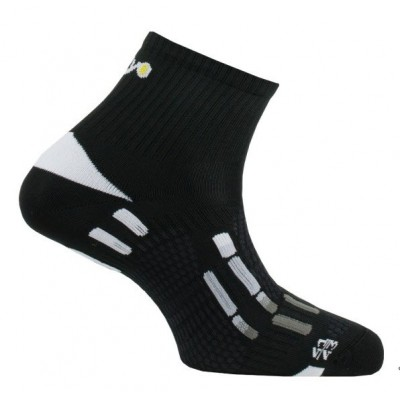 Chaussettes THYO RUN Pody Air noire gris