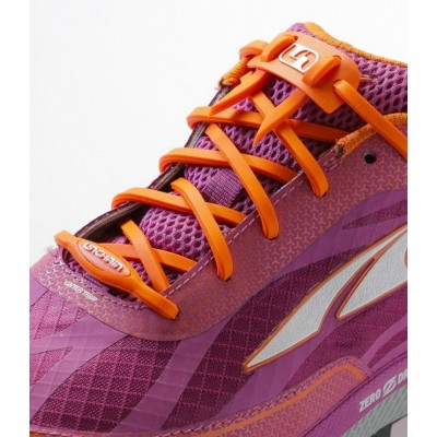 Lacets Unchain Lacing System orange