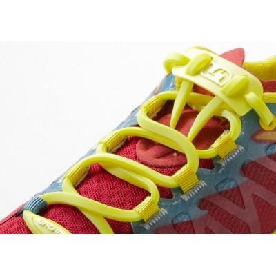 Lacets Unchain Lacing System jaunes