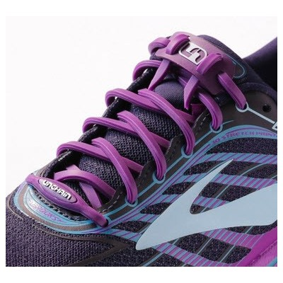Lacets Unchain Lacing System purple