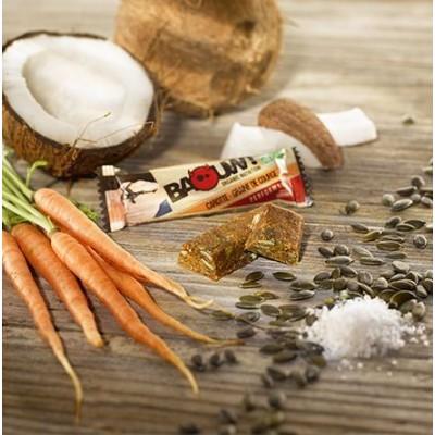 BAOUW Barre Bio sans gluten Carotte Graine de courge Coco