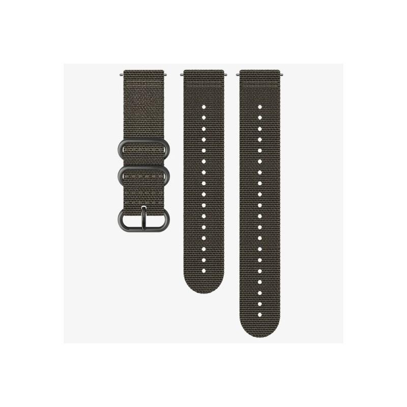 Bracelet SUUNTO 9 TEXTILE STRAP FOLIAGE GRAY M+L