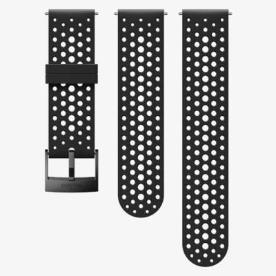 Bracelet SUUNTO 9 SILICONE STRAP BLACK/BLACK S+M