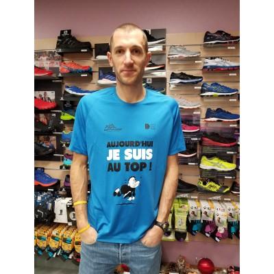 Tee-Shirt DOUZALEUR T'es au TOP Homme bleu