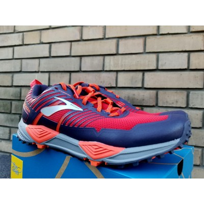 PE19 Cascadia 13 Homme Red/Orange/Grey