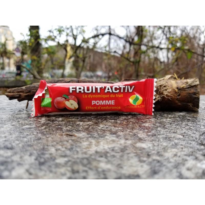 ENDUR'ACTIV Barre Fruit'Activ pomme BIO