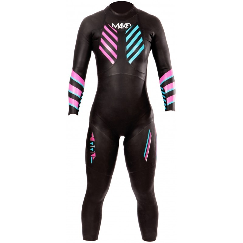 Combinaison Triathlon néoprène MAKO NAIAD 2.0 Femme