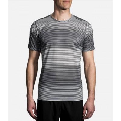 Tee-shirt Brooks Ghost Homme Ash Haze