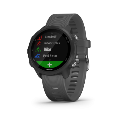 Montre GPS GARMIN FORERUNNER 245 noire/grise