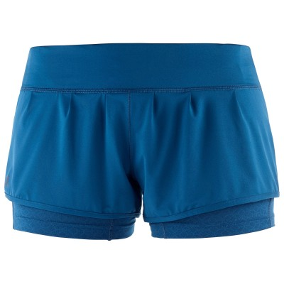 Short SALOMON ELEVATE AERO SHORT Femme Poseidon