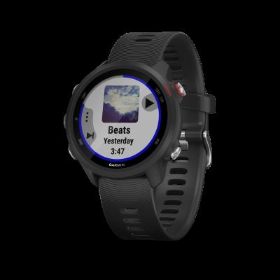 Montre GPS GARMIN FORERUNNER 245 music noire/noire