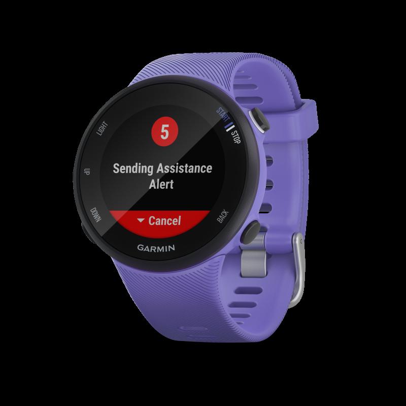 Montre GPS GARMIN FORERUNNER 45S violette