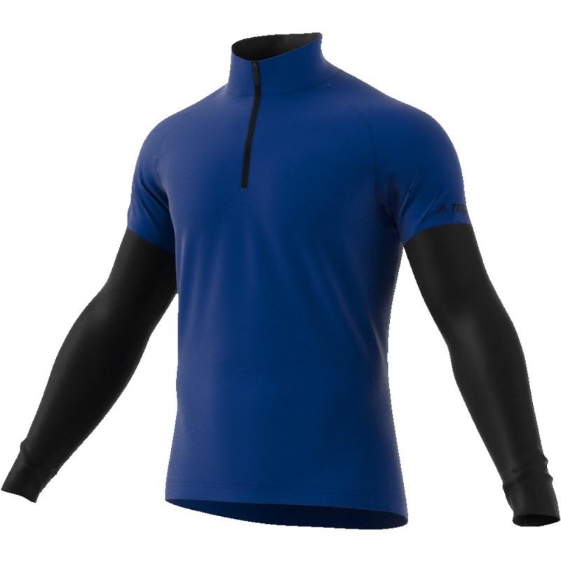 Tee Shirt ML ADIDAS Xperior Homme Bleu royal